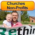 Churches & Non-Profits